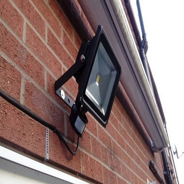 LED security lighting